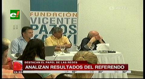Panel analizó victoria del NO y proyecciones hacia el futuro