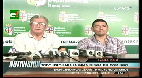 Gobernación compromete 12 mil personas para la Minga Departamental