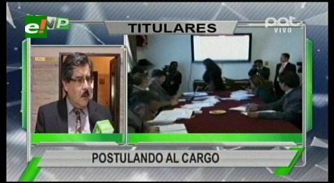 Titulares de TV: Comenzó la recepción de documentos de los aspirantes a Defensor del Pueblo