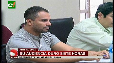 Envían a Palmasola a Diego Ribera, imputado por violencia familiar