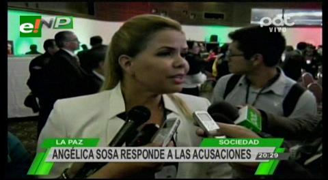 Angélica Sosa denunciará por acoso político al senador Murillo