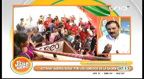 Vicente Cuéllar denuncia que ex autoridades de la Uagrm falsificaron un proceso para sacarlo de la carrera electoral