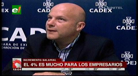 Cadex advierte que no hay liquidez para pagar un incremento salarial
