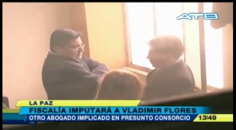 Imputan a abogado Vladimir Flores en caso de consorcio jurídico