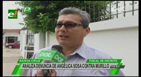 Fiscalía analiza denuncia contra Angélica Sosa