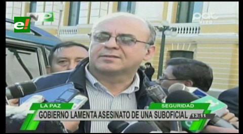 """Ministro Ferreira: """"Presidente está dolido por muerte de suboficial de la FAB"""""""