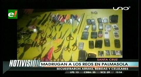 Santa Cruz. Decomisan armas en requisa en cárcel de Palmasola