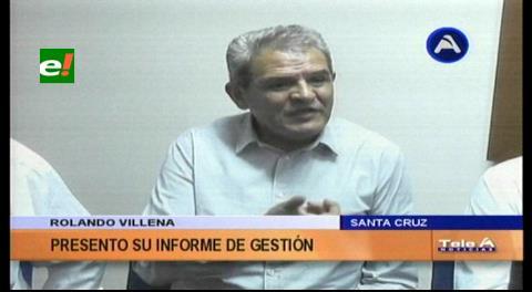 Rolando Villena presentó informe sobre gestión defensorial