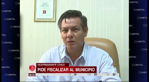 Comité Cívico Cruceño pide fiscalizar a la Alcaldía por 'tráfico de influencias'
