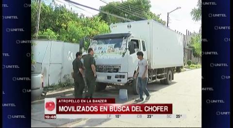 Cámara de seguridad capta al camión que arrolló y mató a una mujer