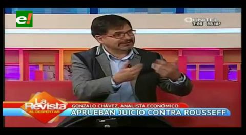 "Gonzalo Chávez: ""El impeachment es legal, está en la CPE"""
