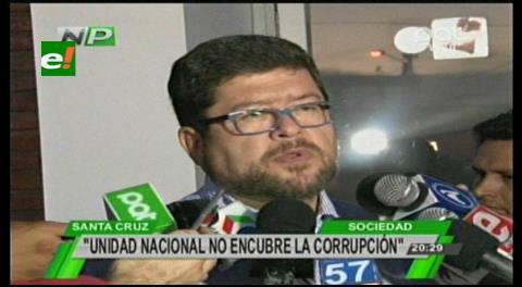 """Samuel justifica las denuncias de Murillo: """"UN no encubre la corrupción"""""""
