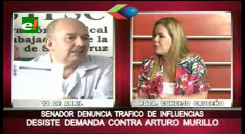 Angélica Sosa desiste de enjuiciar al senador Arturo Murillo