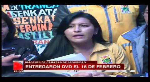El Alto: Alcaldesa niega denuncia por eliminación de videos