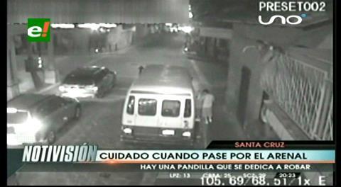 Gavilla de delincuentes causa zozobra en el Parque El Arenal