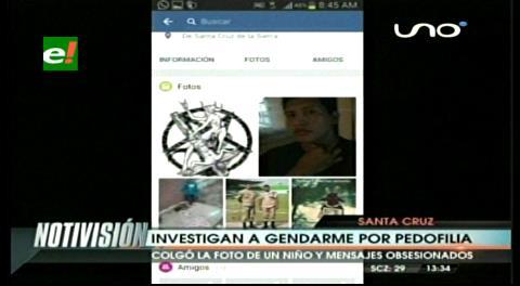 Santa Cruz: Investigan a gendarme por pedofilia