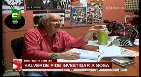 Valverde apunta nuevas irregularidades en la compra a ITC