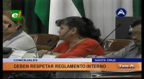 Concejo Municipal de Santa Cruz aprueba declaración de respeto a su reglamento