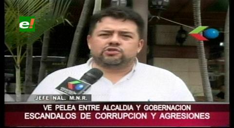 Escándalos de corrupción: Diputado Morón ve una pelea entre la Gobernación y la Alcaldía