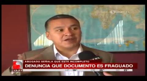 Aseguran que la declaración del ex esposo de Zapata fue fraguada