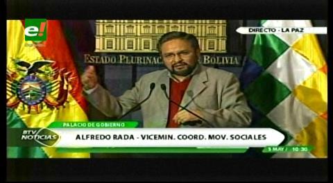 Gobierno niega a discapacitados reunión con Evo y pide a marchistas unirse a implementación del acuerdo nacional