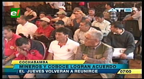 Fabriles levantan el bloqueo y COBOCE espera firmar acuerdo