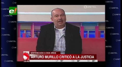 """Murillo: """"Están desesperados por suspenderme, soy una piedra en su zapato"""""""