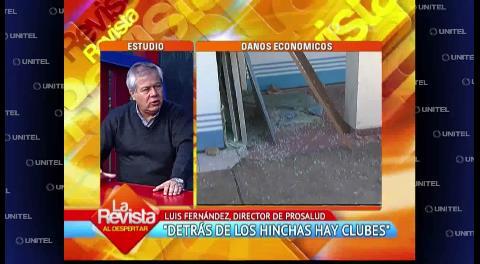 Director de Prosalud pide a Oriente y Wilstermann resarcir daños causados por hinchas