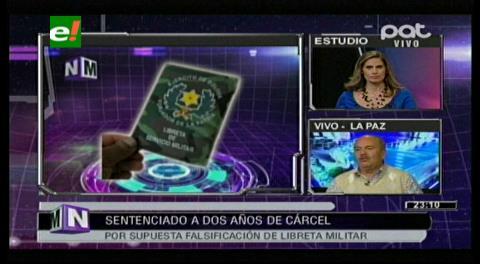Murillo: El ministro de Defensa debería investigar la clonación de libretas del servicio militar