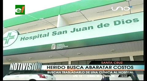 Heridos en accidente empiezan a llegar a hospitales de la capital cruceña