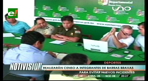 "Autoridades harán un censo a las ""barras bravas"""