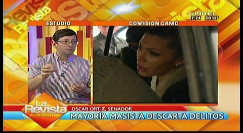 """Senador Ortiz y el caso Citic Group: """"No necesitamos comisiones para investigar"""""""
