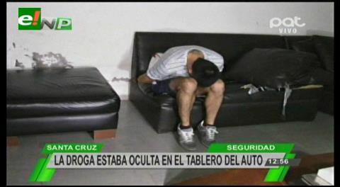 Detienen a ecuatoriano con dos kilos de cocaína