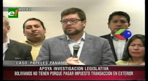 """Samuel apoya la investigación sobre el caso """"Panamá papers"""""""