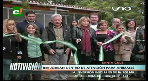 Gobernador Costas inaugura el primer Centro de Atención y Derivación de animales en Bolivia