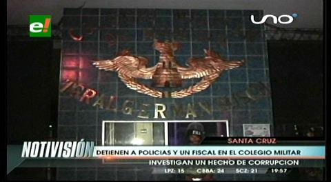 Denuncia provoca impase entre policías y militares