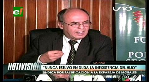 Gobierno pide investigar a Zapata y a sus abogados por falsificación