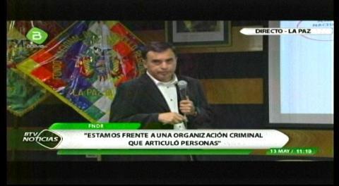 Quintana pide que los empresarios vinculados con Gabriela Zapata se presenten ante la Fiscalía