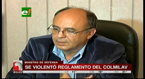 Ministro Ferreira asegura que la Fiscalía violentó reglamento del Colmilav