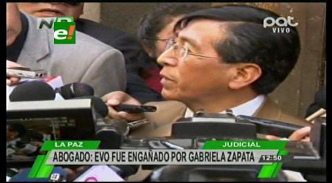 Inexistencia del hijo de Morales y Zapata: Aseguran que la declaración de Valverde confirma la sentencia de la justicia