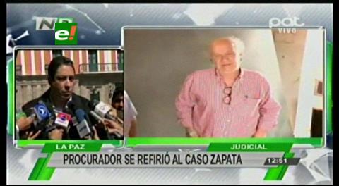 Procurador dice que Gabriela Zapata incurrió en delitos de trata de menores de edad