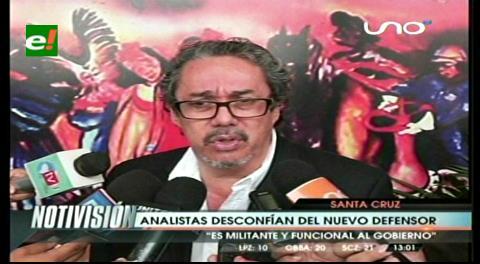 Analistas Molina y Pedraza desconfían del Defensor del Pueblo
