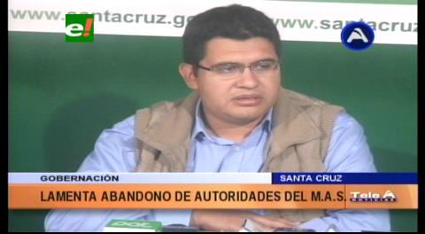 """Peña: """"Rechazamos actitud incoherente de Amdecruz"""""""