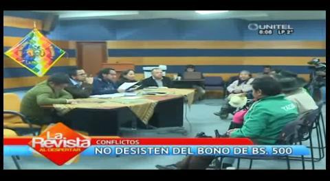 Tarijeños con discapacidad firman acuerdo con el Gobierno