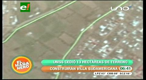 Cochabamba: Anuncian que Villa Sudamericana se construirá en Tamborada