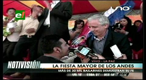 """García Linera: """"Claudita es una 'chola' muy hermosa y me la quieren robar en las entradas"""""""