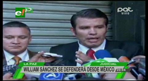 Caso Zapata: Aseguran que el abogado William Sánchez está en México
