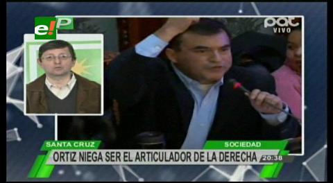 """Ortiz sobre Quintana: """"Es un náufrago desesperado que busca salvar su puesto"""""""