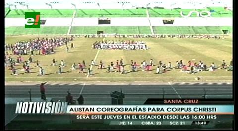 800 alumnos ensayan las coreografías para Corpus