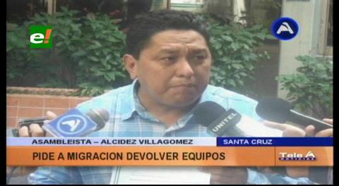 Exigen reposición de equipos de migración en San Matías